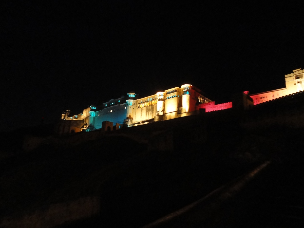 The Amber Fort at Night