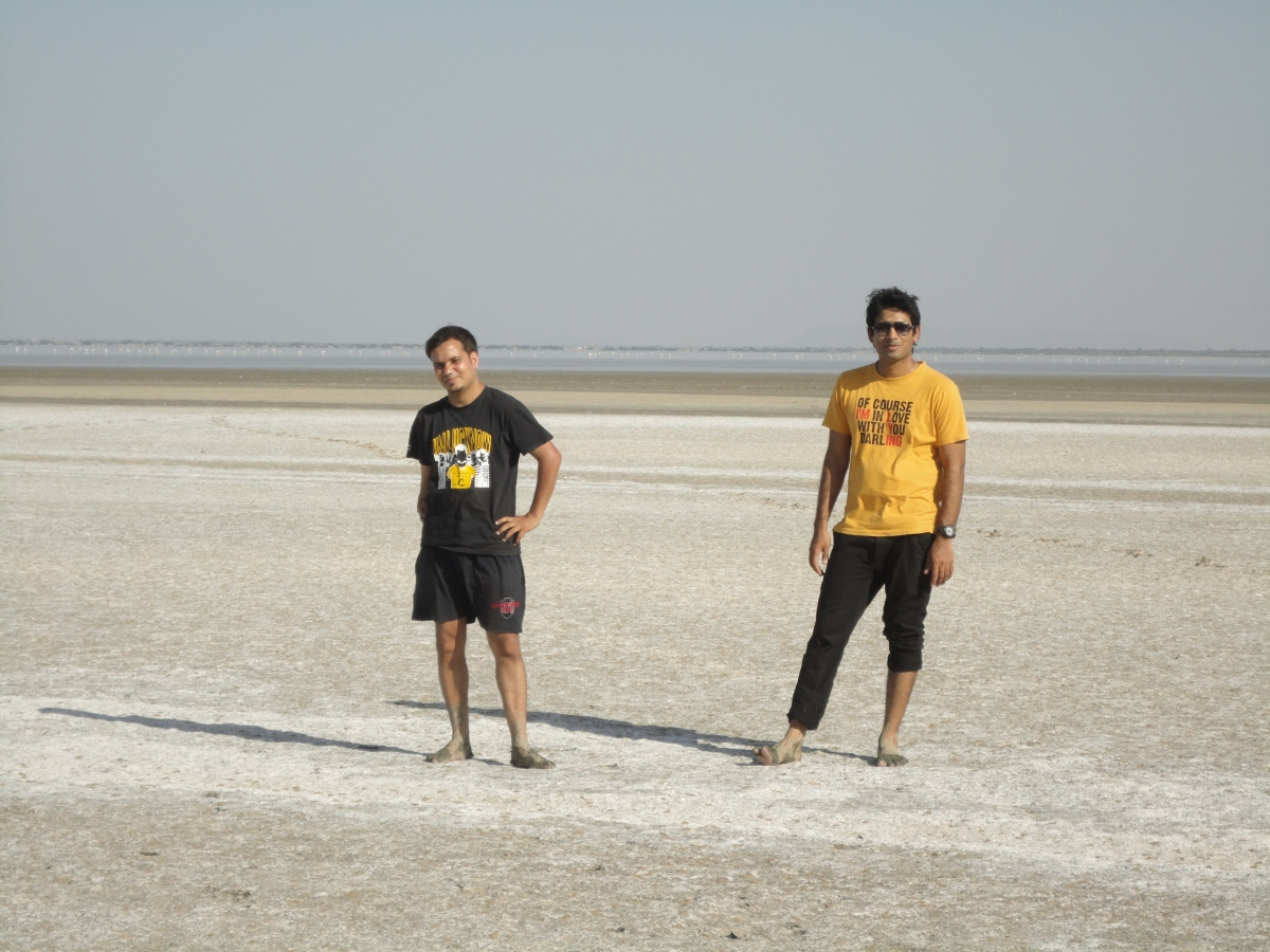 A cool place to hang out .. Sambhar salt lake